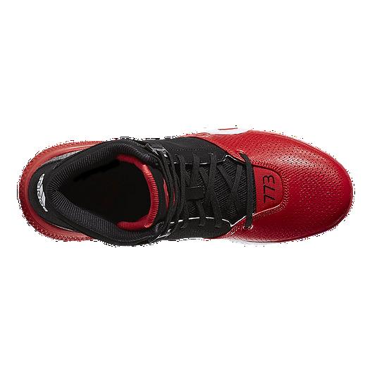 f556ee926eda adidas Men s D Rose 773 4 Basketball Shoes - Black Red White. (1). View  Description