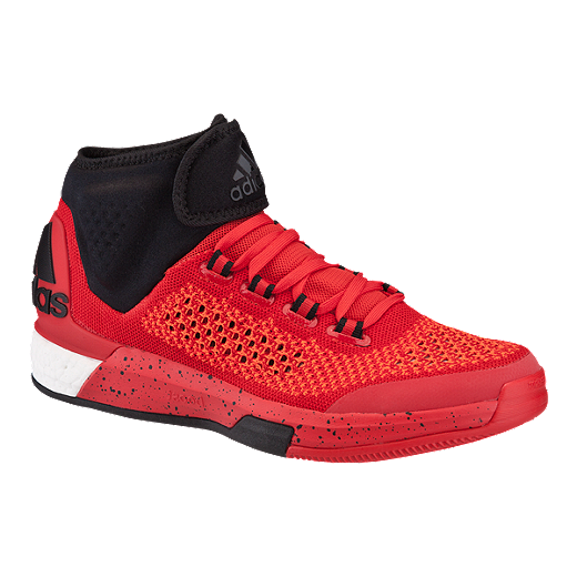 852511ff39af ... performance review youtube 318e1 5b47c  best price adidas mens crazylight  boost prime basketball shoes red black 7133e cc063