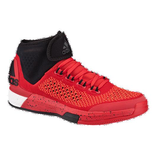 e7dbc2ef255 adidas Men s CrazyLight Boost Prime Basketball Shoes - Red Black ...