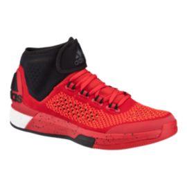 Adidas uomini crazylight impulso primo scarpe da basket rosso / nero