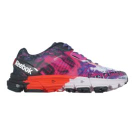 Reebok Women's LTHS One Cushion 3.0 Running Shoes - Purple/Pink/Orange Pattern