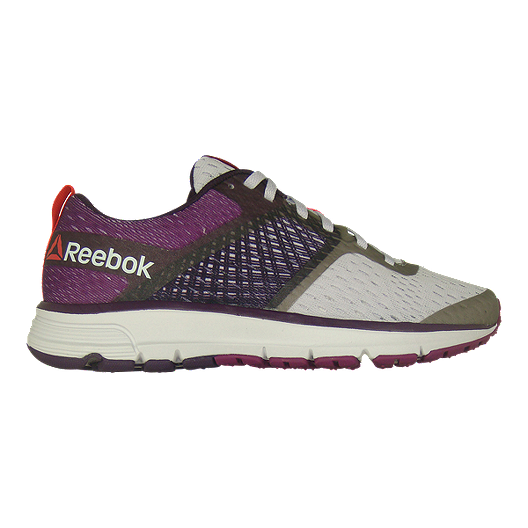 2f2c71fe3104 Reebok Women s One Distance Running Shoes - White Grey Purple ...