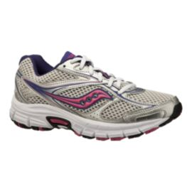 Saucony Women's Grid Exite 7 Running Shoes - Silver/Purple