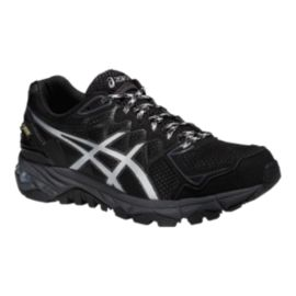 ASICS Women's Gel FujiTrabuco 4 GTX Trail Running Shoes - Black/Silver
