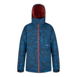 O'Neill Boys' Grid All Over Print Insulated Jacket