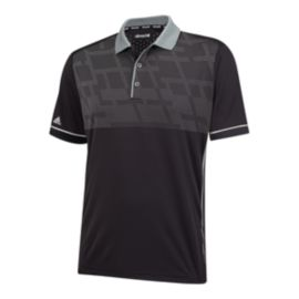 adidas Golf Climachill Chest Print Men's Polo