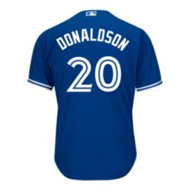 Toronto Blue Jays Josh Donaldson Cool Base PA Replica Blue Baseball Jersey