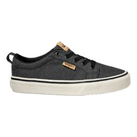 Vans Kids' Bishop Slip Skate Shoes - Grey/White
