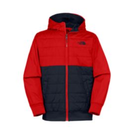 The North Face Boys' Reversible Quilted Surgent Hooded Jacket