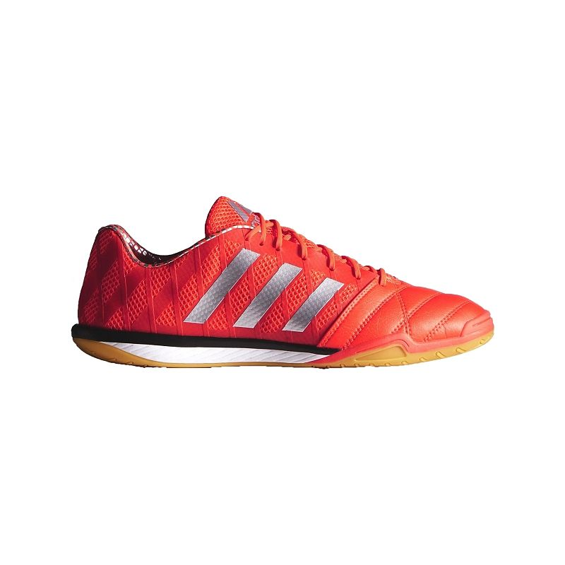 940345230 adidas Men s FF Topsala Indoor Soccer Shoes - Orange Silver Black  (888164710788)