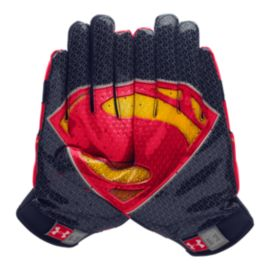 Under Armour Alter Ego Superman Youth Football Glove