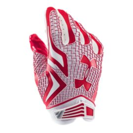 Under Armour Swarm Football Glove - Red