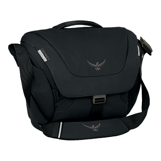 a9b0f049f40 Osprey Flapjack Courier 20L Shoulder Bag - Black