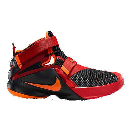 big sale 1cea5 e1600 Nike LeBron Soldier IX Grade-School Kids' Basketball Shoes ...