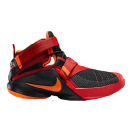 Nike LeBron Soldier IX Grade-School Kids' Basketball Shoes