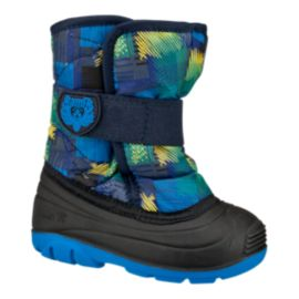 Kamik Toddler Snowbug 4 Winter Boots - Blue/Yellow