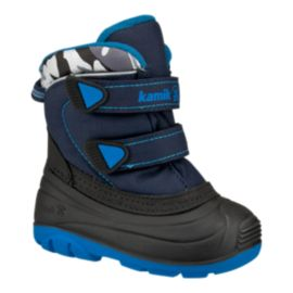 Kamik Toddler Treasure Winter Boots - Navy