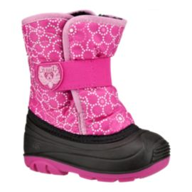 Kamik Toddler Girls Snowbug 4 Winter Boots - Pink