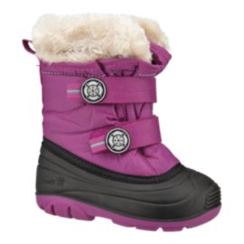 Kamik SnowJoy Girls' Toddler Winter Boots