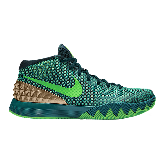 the latest 4881e ced86 Nike Men s Kyrie 1 Basketball Shoes - Teal Green Silver   Sport Chek