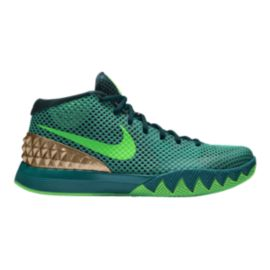 Nike Men's Kyrie 1 Basketball Shoes - Teal/Green/Silver