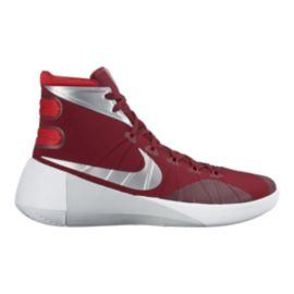 Nike Women's Hyperdunk 2015 Basketball Shoes - Red/Silver