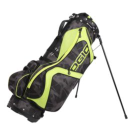 OGIO Edge Stand Bag - Black/Acid