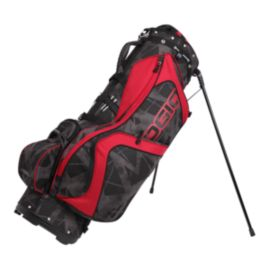 OGIO Edge Stand Bag - Black/Red