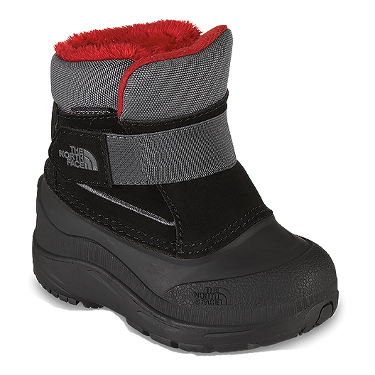 8dc15044c79 The North Face Toddler Alpenglow Winter Boots - Black Grey