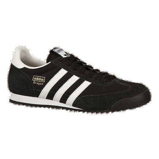 ef5828a53b779f adidas Men s Dragon Shoes - Black White