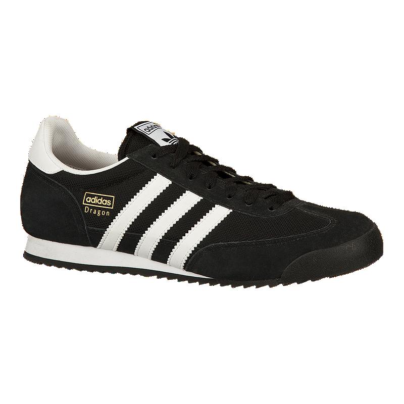08a21888de7 adidas Men's Dragon Shoes - Black/White   Sport Chek