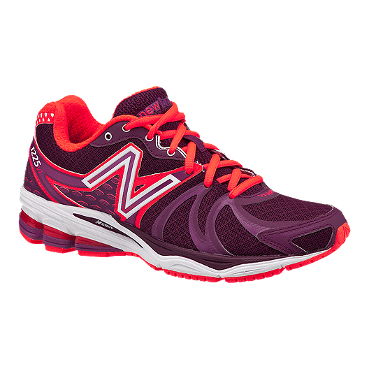 9e0837bff80 New Balance Women s 1225 D Wide Width Running Shoes - Purple Red White