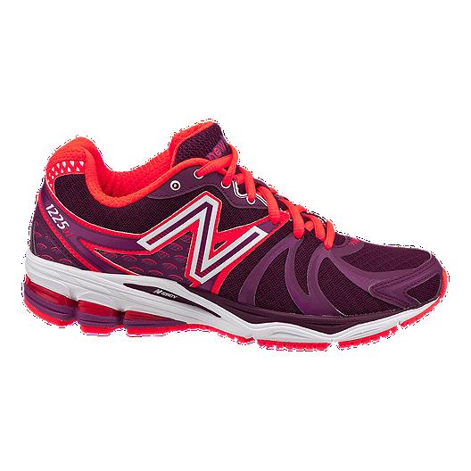 7a958b52e5 New Balance Women s 1225 D Wide Width Running Shoes - Purple Red ...