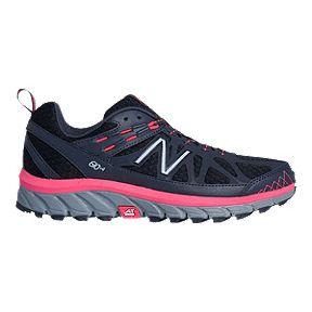 sports shoes 369e7 9d086 New Balance Women s 610v4 D Wide Width Running Shoes - Dark Grey Pink