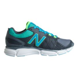 New Balance Women's 813v3 D Wide Width Training Shoes - Grey/Blue
