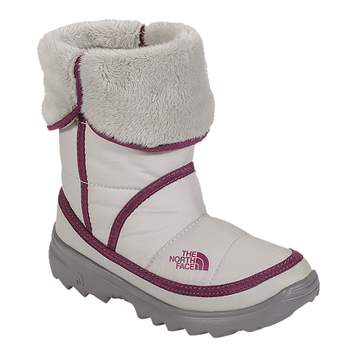 cfc86b9fc The North Face Girls' Amore Winter Boots - Ivory/Purple | Sport Chek
