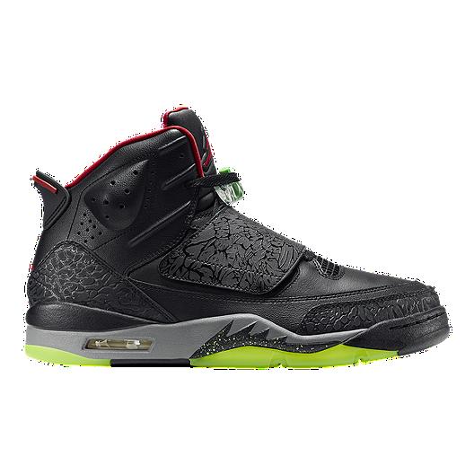 sale retailer 7bcd4 b2930 Nike Men s Air Jordan Son of Mars Basketball Shoes - Black Red Grey   Sport  Chek