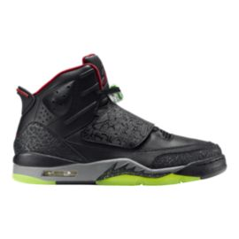 Nike Men's Air Jordan Son of Mars Basketball Shoes - Black/Red/Grey