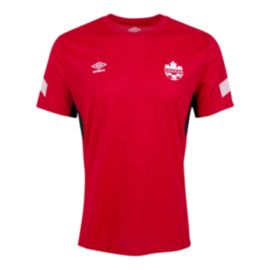 Canada Soccer Men's Training Jersey - Red