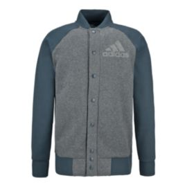 adidas Authentic Button Up Men's Fleece Jacket