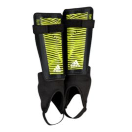 adidas X Youth Shinguard - Black/Solar Yellow