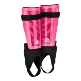 adidas X Youth Shinguard - Solar Pink/White
