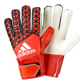 adidas Young Pro Goalie Glove - Solar Red/Black