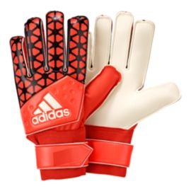 adidas Pro Training Goalie Gloves - Solar Red/Black