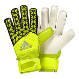 adidas Young Pro FS Junior Goalie Glove - Solar Yellow