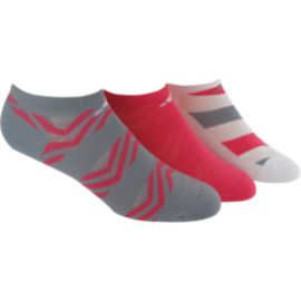 adidas Cushioned Graphic Women's No Show Socks - 3-Pack