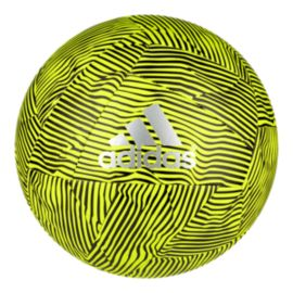 adidas X Glider Size 4 Soccer Ball - Solar Yellow/Black