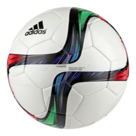 adidas Conext15 Competition Soccer Ball Size 5 - White/Flash