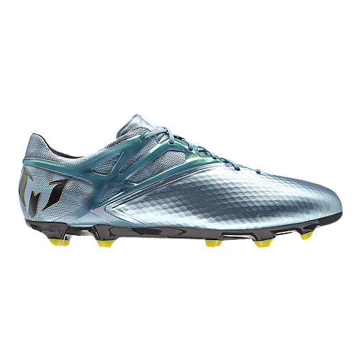 bc94983db adidas Men s Messi 15.1 FG Outdoor Soccer Cleats - Silver Grey Yellow
