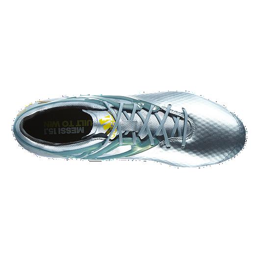 7da04a736 adidas Men s Messi 15.1 FG Outdoor Soccer Cleats - Silver Grey Yellow. (0).  View Description